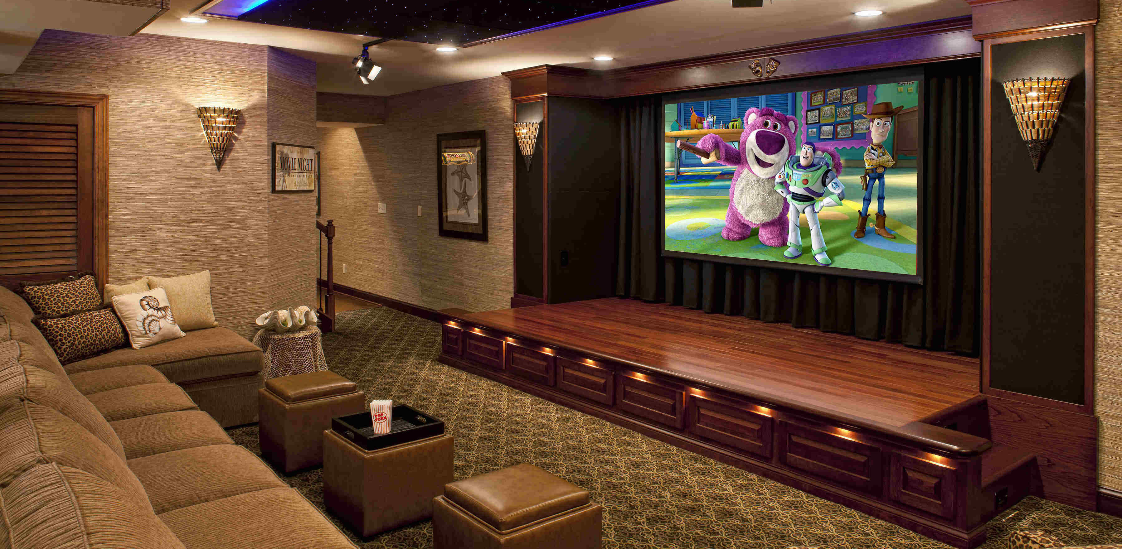 Pictures Of Home Theaters Media Rooms And Home Theaters By Budget ...