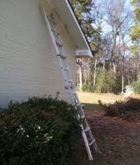 ladder outside