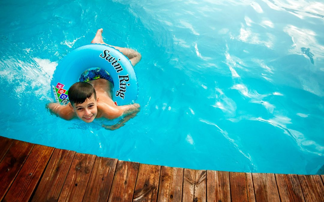 Have a pool?  Be safe with these security tips!
